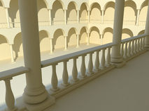 Arches and columns Royalty Free Stock Photos