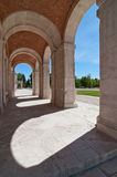 Arches and columns in Aranjuez, Spain Stock Photography