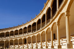Arches and columns in the Arena Royalty Free Stock Image