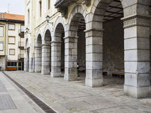 Arches and columns. Royalty Free Stock Photos