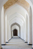 Arches of corridor, Kalyan mosque, Bukhara Royalty Free Stock Image