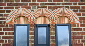 Arches. Detail of beautiful arches above windows Royalty Free Stock Image