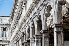 Arches in Doges Palace Stock Photos