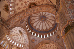 Arches and domes with islamic patterns Royalty Free Stock Photos