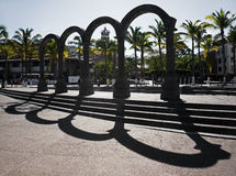 Arches El Malecon Puerto Vallarta Mexico Royalty Free Stock Photography