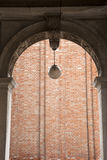 Arches and Facade of Bell Tower, San Marcos - St Marks Square; V Royalty Free Stock Image