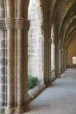 ARCHES. The famous arches of Bellapais monastery in Cyprus Stock Images