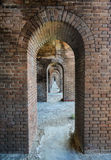 Arches, Fort Jefferson at the Dry Tortugas National Park Royalty Free Stock Image