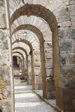 Arches of the granaries Stock Image