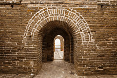 Arches On The Great Wall of China Royalty Free Stock Photo
