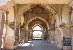 Arches of Historic Architecture in Mandu or Mandav India. Arches of Historic Architecture in the city of Mandu or Mandav district Dhar Madhya Pradesh India royalty free stock photos