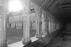Arches in Holycross abbey Royalty Free Stock Images