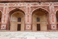 Arches of Humayun's tomb, Delhi, India Stock Photography