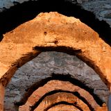 Arches In Detail Stock Photography