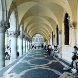 arches Italy Venice royalty free stock image