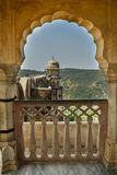 Arches of Jaigarh Fort stock photo