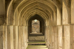 Arches of Historic Architecture Jal Mahal Madhya P royalty free stock photo