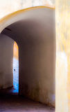 Arches, Jodhpur, Rajasthan, India. Details of the Fort arches in Blue City Stock Photo