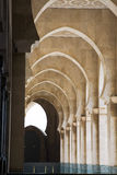 Arches at the King Hassan II Mosque Stock Photos
