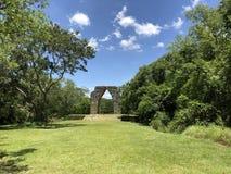 Arco de Kabah, Yucatán, México stock images