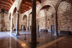 Arches Medieval Castle Rhodes Island Royalty Free Stock Photos