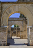 Arches in Medina Azahara Royalty Free Stock Images