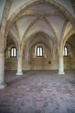 Arches of a  monastery Royalty Free Stock Photography