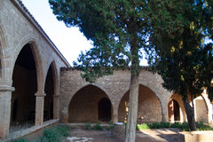 Arches of the Monastery Royalty Free Stock Photos