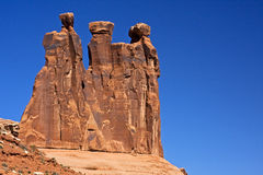 Arches Nat.Park,  Utah Royalty Free Stock Images