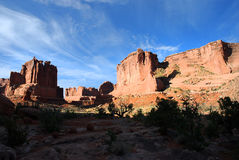 Arches National Parc Royalty Free Stock Photos