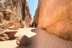 Arches national parck Royalty Free Stock Photo