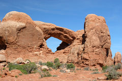 Arches National Park. Red Rocks in Arches National Park Stock Image
