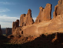 Arches national park. Sunset at arches national park Stock Photo