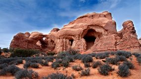 Arches national park Stock Photos