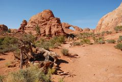 Arches National Park. In Utah, United States stock photography