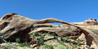 Arches National Park. In USA Royalty Free Stock Photos