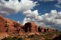 Arches National Park. Scenery, USA Royalty Free Stock Image