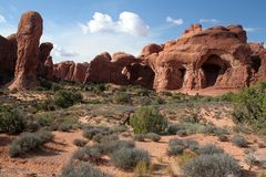 Arches National Park. Scenery, USA Stock Image