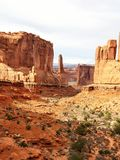 Arches national park. Beautiful landscape picture in arches national park Royalty Free Stock Image
