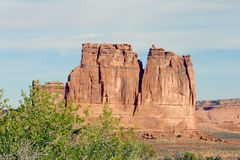 Arches National Park, Courthouse. Arches National Park, View from Courthouse area of park Stock Photo