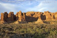 Arches National Park Landscape Stock Photo