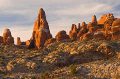 Arches National Park Landscape Stock Photography