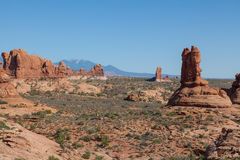 Arches National Park Landscape Stock Photos