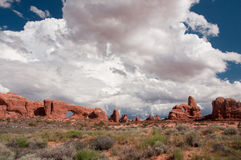 Arches National Park Landscape Royalty Free Stock Photos