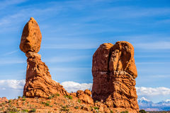 Arches National Park  Moab  USA Royalty Free Stock Image