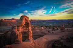 Arches National Park, Moab, Utah Stock Images