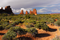 Arches National Park, Moab Utah Royalty Free Stock Photos