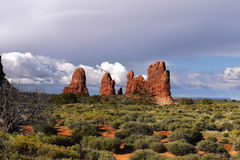 Arches National Park, Moab Utah Royalty Free Stock Image