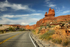 Arches National Park, Moab Utah Royalty Free Stock Images