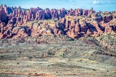 Arches National Park  Moab  Utah  USA Royalty Free Stock Photography